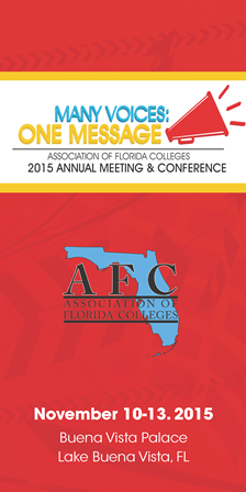2015 AFC Annual Meeting and Conference Program Cover